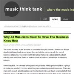 Why All Musicians Need To Have The Business Know How