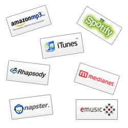 How to get your music on Itunes, Spotify, Amazon MP3, Napster, and more digital download shops
