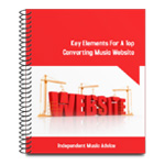 Free Musician Ebook - Key Elements For A Top Converting Music Website