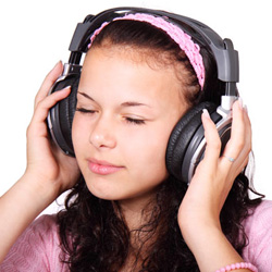 People listening to your music