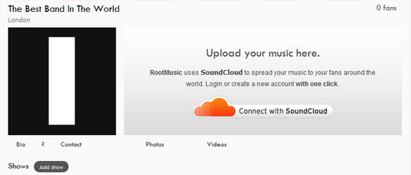 Connect SoundCloud with Facebook and BandPage