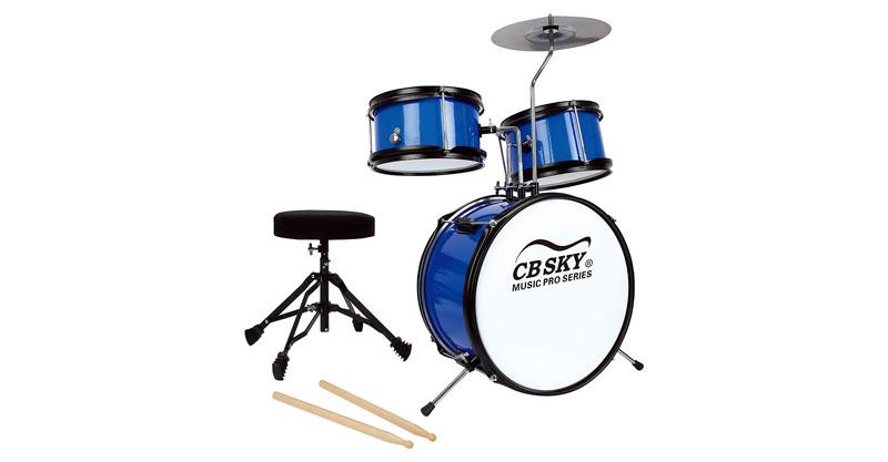 CB SKY 13 Inch 5-Piece Kids/Junior Drum Set/Beginner