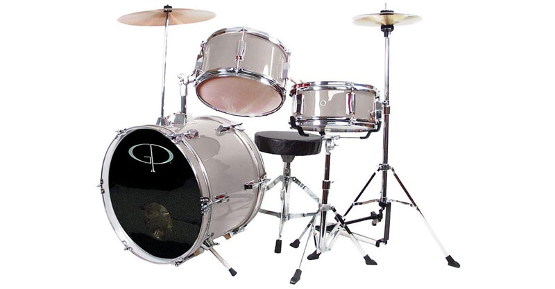 GP Percussion GP50SV Complete Junior Drum Set