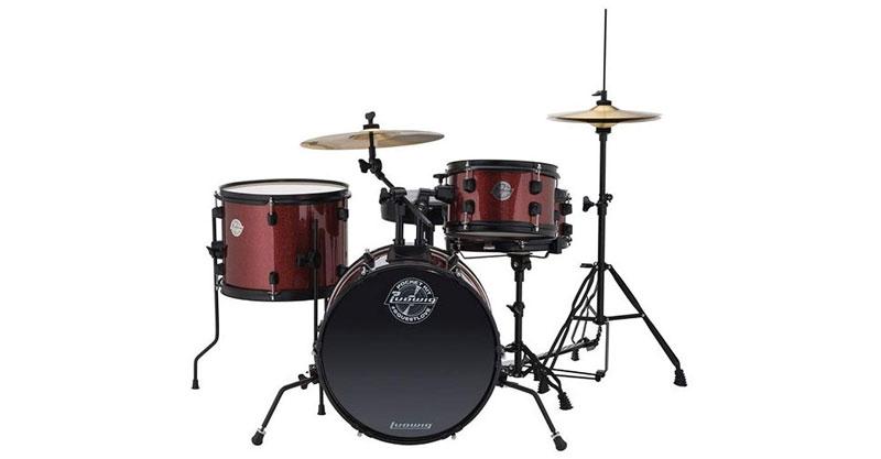 Ludwig LC178X025 Questlove Pocket Kit 4-Piece Drum Set