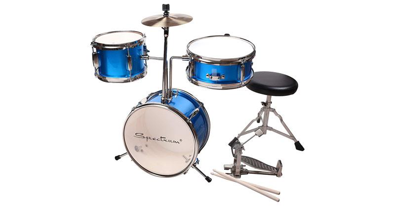 Spectrum AIL 620B 3-Piece Junior Drum Set